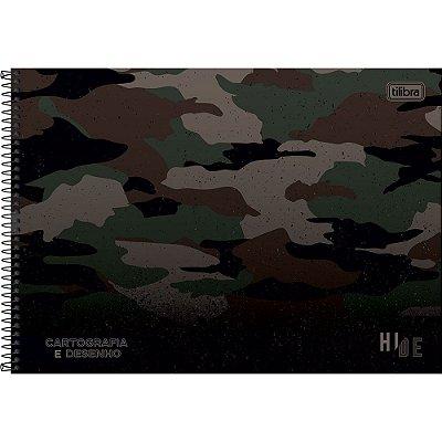 Caderno de Cartografia e Desenho Hide - Verde - Tilibra