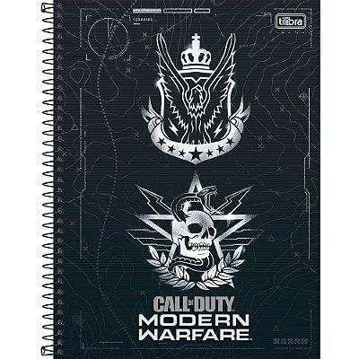 Caderno Call of Duty - Caveira - 80 Folhas - Tilibra