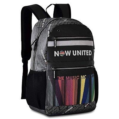 Mochila Oficial Now United - Preta - Clio Style