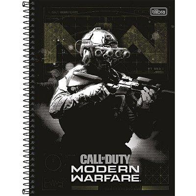 Caderno Call of Duty - Modern Warfare - 80 Folhas - Tilibra