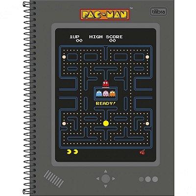 Caderno Pac Man - Game - 80 Folhas - Tilibra