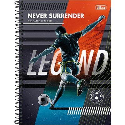 Caderno Do It! - Futebol - 80 Folhas - Tilibra