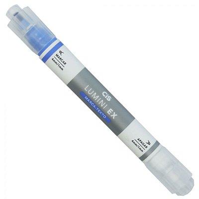 Marca Texto Apagável Lumini Ex - Azul - Cis