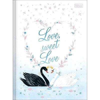 Caderno Brochura Royal - Love Sweet Love - 80 Folhas - Tilibra