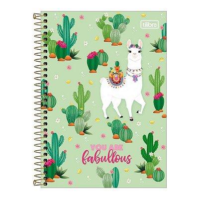 Caderno Pequeno 1/4 Hello - Fabullous - Tilibra