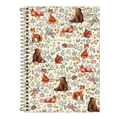 Caderno Pequeno 1/4 Loveland - Melhor Presente - Tilibra