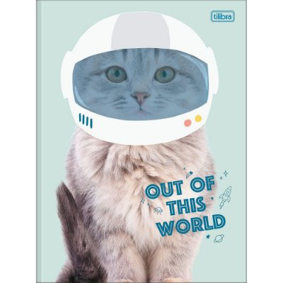 Caderno Brochura Hug Me - Gatinho Astronauta - Tilibra