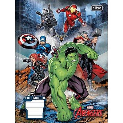 Caderno Brochura Quadriculado Avengers - 40 Folhas - Tilibra