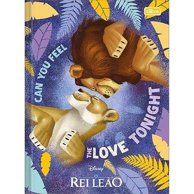 Caderno Brochura O Rei Leão - Love Tonight - 80 Folhas - Tilibra