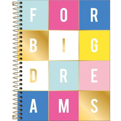 Caderno Be Nice - Big Dreams - 80 Folhas - Tilibra