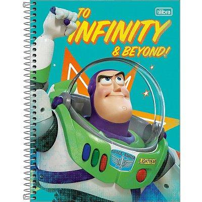 Caderno Toy Story 4 - Buzz Lightyear - 80 Folhas - Tilibra
