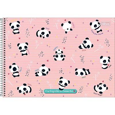 Caderno De Cartografia e Desenho Lovely Friend - Sticker - Tilibra