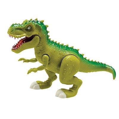 Dinossauro Tiranossauro Attack - Verde - Adijomar