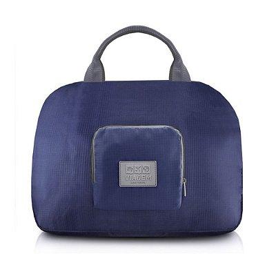 Bolsa de Viagem Dobrável - Azul - Jacki Design