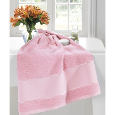 Toalha de Banho Multi Arte para Pintar - Rosa 9523 - Dohler