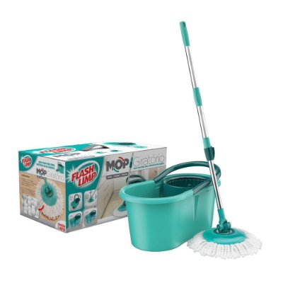 Mop Giratório 8209 - Verde - Flash Limp