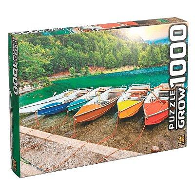 Quebra-Cabeça Lagos de Fusine - 1000 peças - Grow