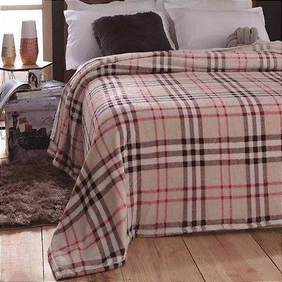 Cobertor Pelo Alto Dyuri Casal - Burberry - Jolitex