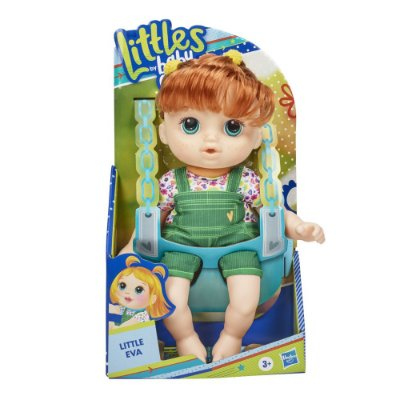Boneca Baby Alive - Littles By Baby - Little Eva - Hasbro