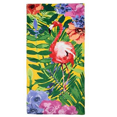Toalha de Praia - Flamingo - Döhler