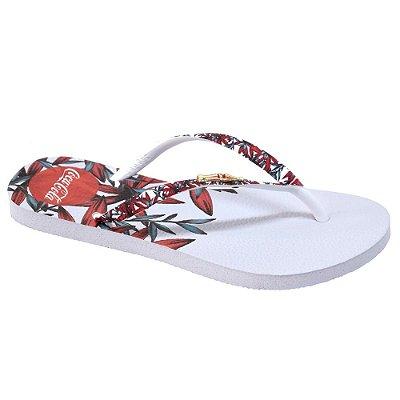 Chinelo Feminino Summer Leaves - Coca Cola Shoes
