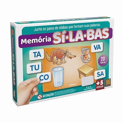 Memória Sílabas - Grow