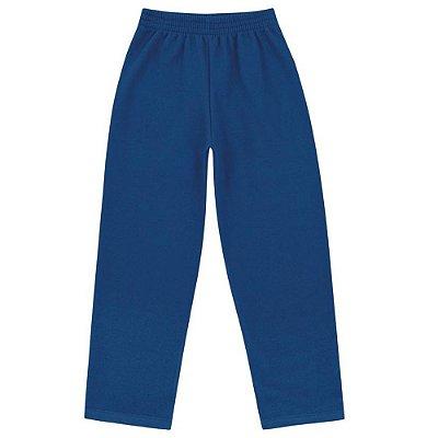 Calça Moletom Básica Azul - Fakini