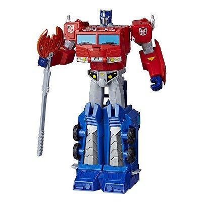 Boneco Optimus Prime Transformers Energon Armor - Hasbro