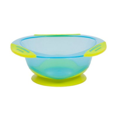 Pratinho Bowl Com Ventosa - Azul - Buba