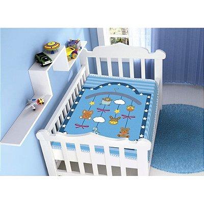 Cobertor Infantil Raschel Plus - Mobile - Jolitex