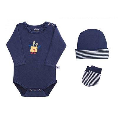 Baby Kit 3 Peças - Monstrinho - Colibri