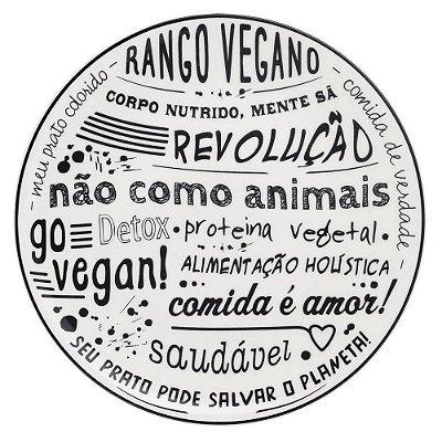 Prato Raso Vegano 26cm - Oxford