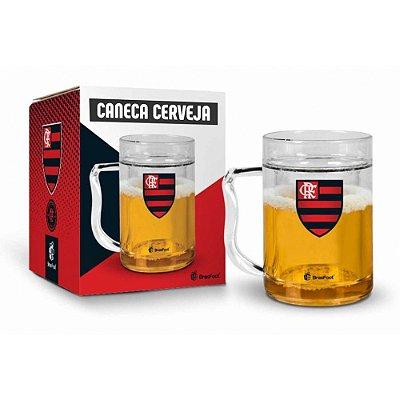 Caneca de Cerveja Gel Flamengo - 200ml - Brasfoot