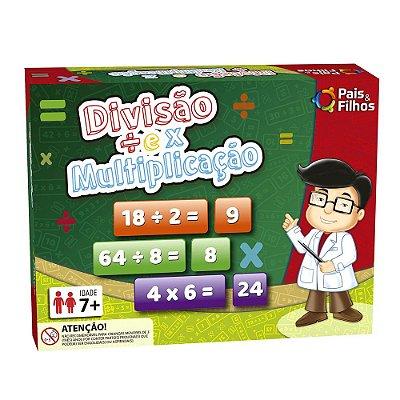 Jogo Divisão e Multiplicação - Pais e Filhos