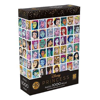 Quebra-Cabeça Princesas - 1000 peças - Grow