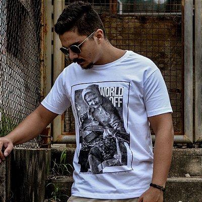 Camiseta #WorldOff