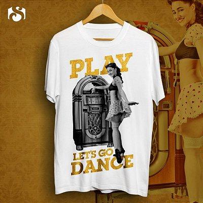 Camiseta #PlayLetsGoDance