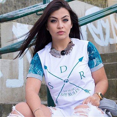 Camiseta Longline #SDR - Feminina