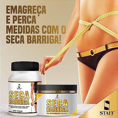 Seca Barriga120caps +Gel Queima Gordura 250g