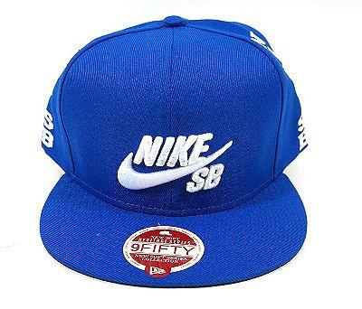Boné Aba Reta Nike SB Azul