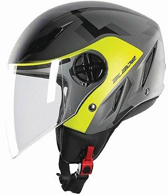 Capacete AGV Blade Camodaz Cinza e Amarelo