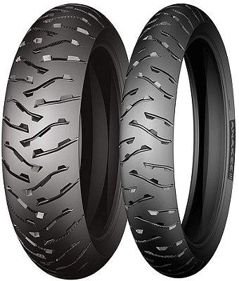 Combo Pneu Moto 110/80zr19+170/70zr17 Michelin Anakee 3