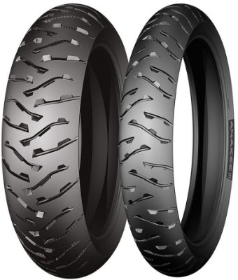 Combo Pneu Moto 90/90zr21+150/70zr17 Michelin Anakee 3