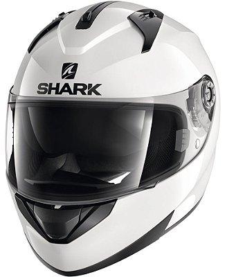 Capacete Shark Ridill Blank WHU Branco