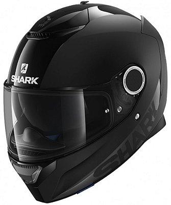 Capacete Shark Spartan Dual Black SS P BLK Preto