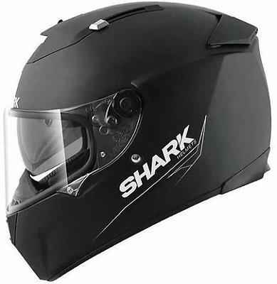 Capacete Shark Speed-R 2 Blank KMA Preto Fosco