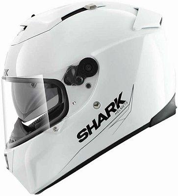 Capacete Shark Speed-R 2 Blank WHU Branco