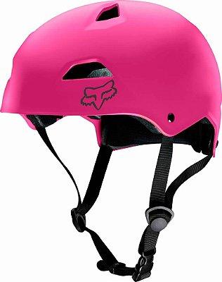 Capacete Fox Bike Flight Sport Rosa