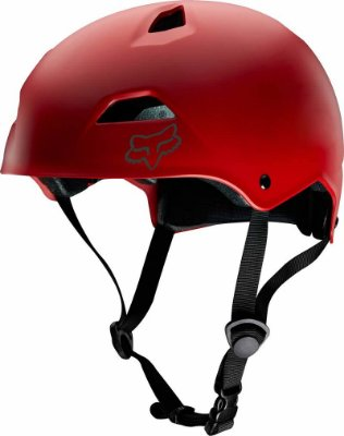 Capacete Fox Bike Flight Sport Vermelho