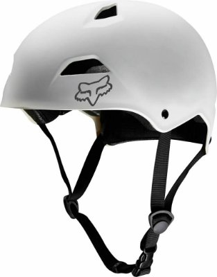 Capacete Fox Bike Flight Sport Branco